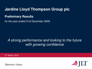 Jardine Lloyd Thompson Group plc