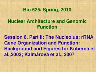 Bio 525