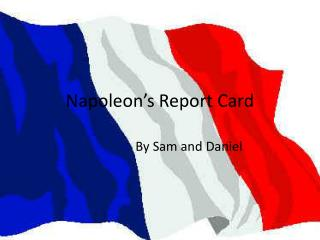 Napoleon s Report Card