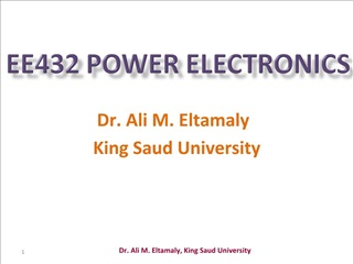 EE432 Power Electronics
