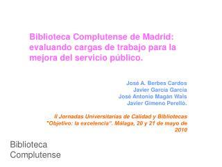 Biblioteca Complutense