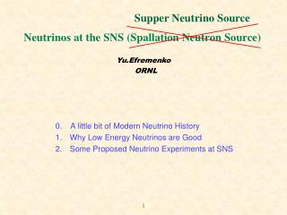Neutrinos at the SNS Spallation Neutron Source