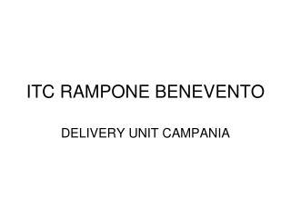 ITC RAMPONE BENEVENTO