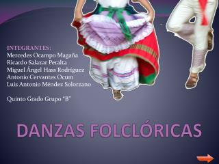 DANZAS FOLCL RICAS