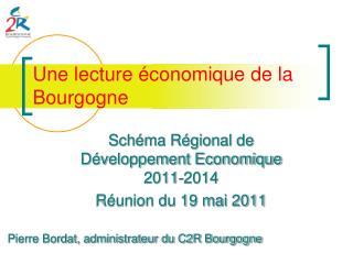 Une lecture  conomique de la Bourgogne