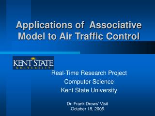 Applications of  Associative Model to Air Traffic Control