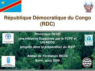 R publique D mocratique du Congo RDC