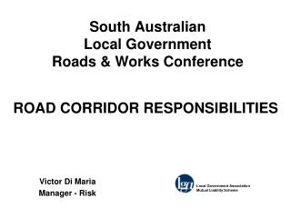 South Australian  Local Government  Roads  Works Conference