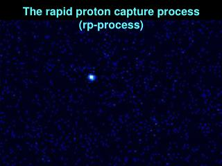 The rapid proton capture process rp-process