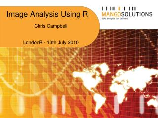 Image Analysis Using R