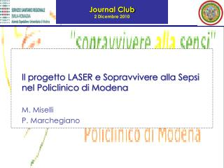 Journal Club  2 Dicembre 2010