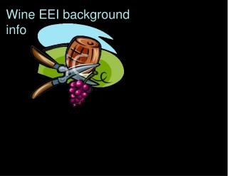 Wine EEI background  info