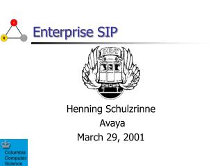 Enterprise SIP
