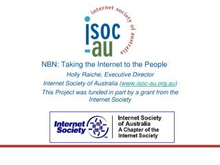 NBN: Taking the Internet to the People