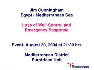 Jim Cunningham  Egypt