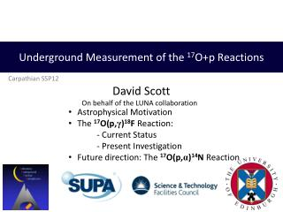 Underground Measurement of the 17Op Reactions