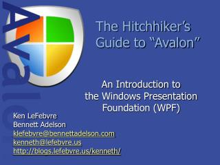 The Hitchhiker s Guide to  Avalon
