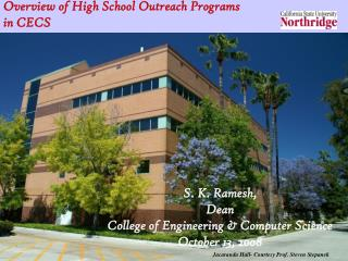 Overview of High School Outreach Programs in CECS