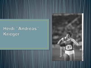 Heidi  Andreas  Krieger