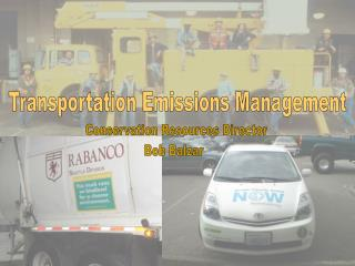 Transportation Emissions Management
