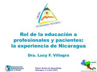 Rol de la educaci n a  profesionales y pacientes:  la experiencia de Nicaragua