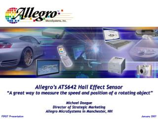 Allegro s ATS642 Hall Effect Sensor   A great way to measure the speed and position of a rotating object   Michael Doogu