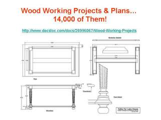 Wood Working Projects - Get 14