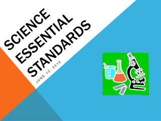 Science Essential Standards
