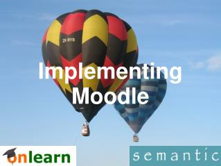 Implementing Moodle