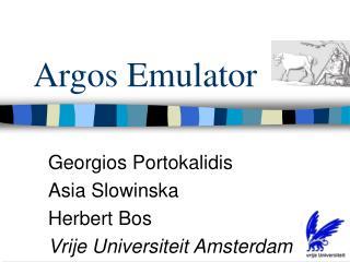 Argos Emulator