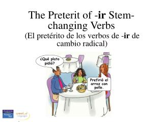 The Preterit of -ir Stem-changing Verbs