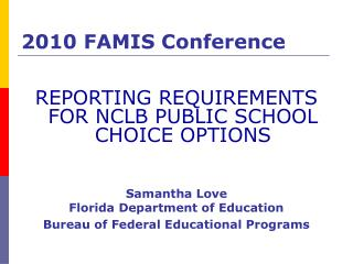 2010 FAMIS Conference