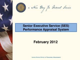 Senior Executive Service SES Performance Appraisal System