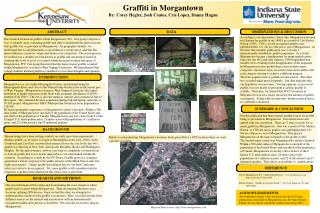ACKNOWLEDGEMENTS:  We would like to thank  Chris aka SeizeOne, the US Census publications, the people at Morgantown, Dr.