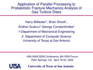 Application of Parallel Processing to Probabilistic Fracture Mechanics Analysis of Gas Turbine Disks