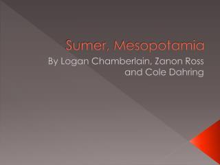 Sumer, Mesopotamia