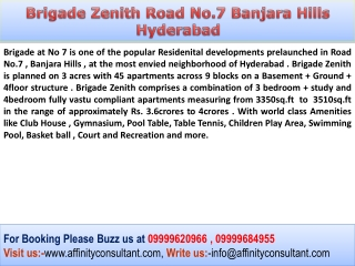 Banjara Hills Road No.7  Hyderabad New Property @09999684955