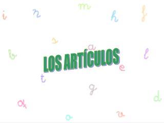 LOS ART CULOS