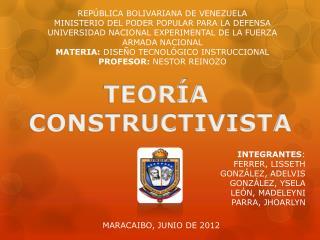 REP BLICA BOLIVARIANA DE VENEZUELA MINISTERIO DEL PODER POPULAR PARA LA DEFENSA UNIVERSIDAD NACIONAL EXPERIMENTAL DE LA
