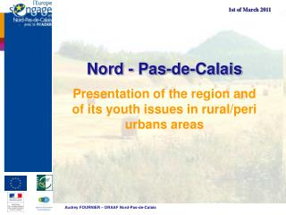 Presentation of the region and of its youth issues in rural