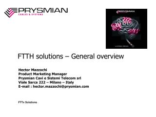FTTx Solutions