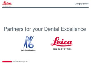 Partners for your Dental Excellence