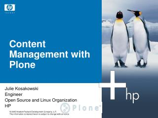 Content Management with Plone