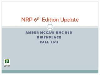 NRP 6th Edition Update