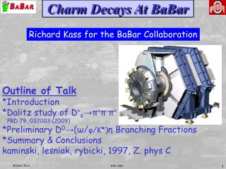 Charm Decays At BaBar