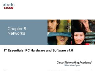 Chapter 8: Networks