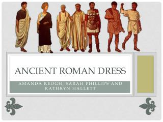 Ancient Roman Dress