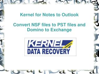 convert NSF to PST file with convinience