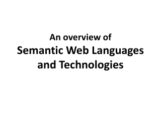 Human Language Technologies  for the Semantic Web