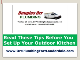 Licensed Plumber Fort Lauderdale Tips on Kitchen Remodeling